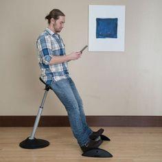 Leaning Stool With Ellipse Base Perchstool Ergonomic National Business Furniture