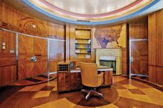 Union Terminal Predidents Office - Image Provided By Cincinnati Museum Center At Union Terminal