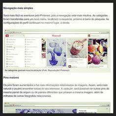 Pinterest inicia testes em seu novo layout #website #pinterest #webstagram #instacool #novo #layout #tendencias #news #comunicação #mkt #marting #digital #3B #agencia3B #blog
