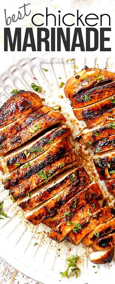Entree Recipes, Grilling Recipes, Sauce Recipes, Dinner Recipes, Cooking Recipes, Best Grilled Chicken Marinade, Chicken Marinades, Chicken Recipes, Carlsbad Cravings