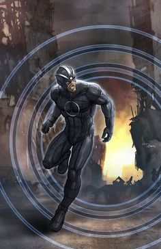Havok as leader of the Uncanny Avengers ~ art by Francis Tsai
