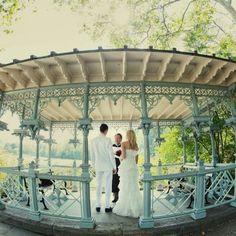 Ladies Pavilion,   Central Park, NYC.  Perfect venue...