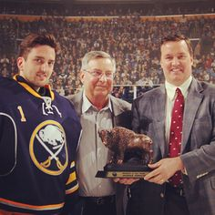 Jhonas Enroth has been named the Sabres Rookie of the Year Award.
