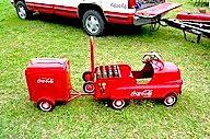 Coca-Cola Kiddie Pedal Car
