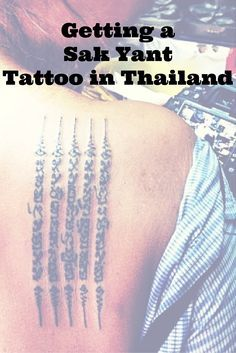 Traditional Thai tattoo Sak Yant is a yantra tattoo (sak=tatoo and yant=yantra in Thai language), also called bamboo tattoo, because traditionally the skin was pierced with bamboo stick. Nowadays monks and Arjans (tattoo artists) use long metals sticks. Would you dare to get one? #yantra #yantratattoo #sakyant #sakyanttattoo #bamboo #bambootattoo #tattoo #HahTaew