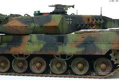 MMZ - German Tank Leopard 2 A6