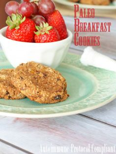 Against All Grains bakes you an autoimmune protocol friendly cookie for breakfast