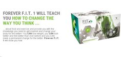 F.I.T 1 Lose weight, look better and feel better than ever before and yiu can make a permanent change for the better. Forever F.I.T 1 will show you how.