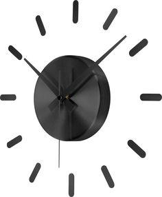 Analóg falióra 350 mm, fekete, renkforce HD-W152 SW Instruments, Clock, Wall, Home Decor, Wall Clocks, Watch, Decoration Home, Room Decor, Clocks