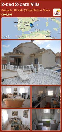 2-bed 2-bath Villa in Quesada, Alicante (Costa Blanca), Spain ►€169,999 #PropertyForSaleInSpain