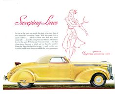 1937 Imperial Convertible  Coupe