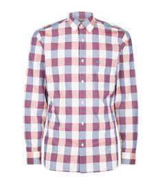 BURBERRY Gingham Cotton Shirt. #burberry #cloth #