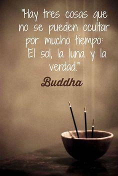 Buddha el sol, la luna y la verdad: