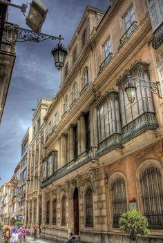 Casa de los Carranzas en la calle Ancha