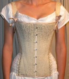 Regency Period Riding Corset