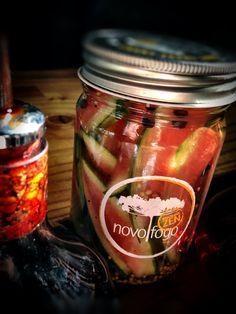 Pickled watermelon rind, anyone?  #NovoFogo