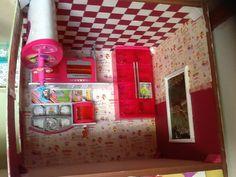 Barbie dollhouse kitchen DIY