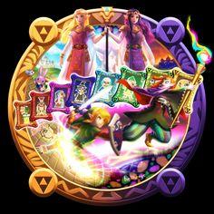 bellhenge: [The Legend of Zelda: A Link Between Worlds]— (Deviant Art, full size)— A Link to the Past— Princess Zelda— Princess Hilda