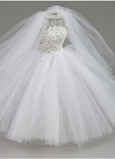 Miniature Dress Form - Large Bridal