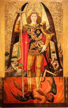 JAUME HUGUET EL ARCANGEL SAN MIGUEL 1456
