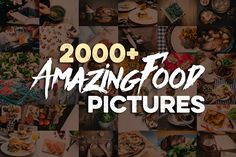 2000+ Amazing Food Pictures by FoodPictures contains more than 2000 professional and unique photos & backgrounds! All photos are in Hi-res JPG format ready for your next project. Enjoy ;)    Premium Quality