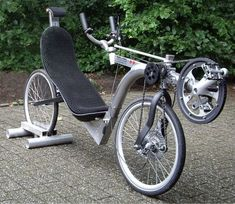 Akira, Recumbent Bicycle, Reverse Trike, Bike Pedals, Leaf Spring, Bike Style, Bike Design, Tricycle, Cycling