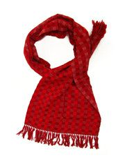 Zina Scarf | Red 'n' pink | Chiapas Bazaar | Handmade Mexican Blouses, Accessories & Home Decor from Rural Artisans