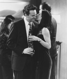Chandler & Monica I love this couple! <3