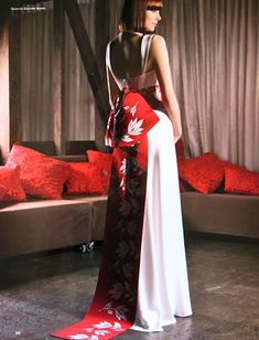 Culture Bridal Couture: wedding dress photos from recent bridal magazines, fashion editorial shoots, press coverage