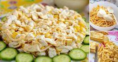 Vyskúšajte tento netradičný šalát, ktorý vás určite zasýti. Príprava je jednoduchá a môžete si ho pripraviť s čistým svedomím aj na večeru. Grains, Rice, Fitness, Food, Essen, Meals, Seeds, Yemek, Laughter