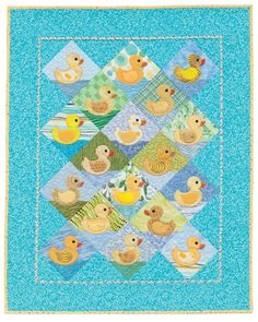 """Rubber Duckies"" from 'Cuddle Me Quick' by Christine Porter and Darra Williamson"