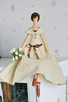 "Кукла Тильда ""Оттепель"". Handmade."