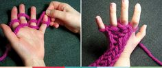 Fun activity to develop fine motor skills and keep the kids occupied. Finger knitting is a fun that activity improves dexterity and ability to concentrate.