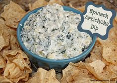 Spinach Artichoke Dip (in a Crock Pot)  This is real food. Make this super easy dip in minutes, and let it cook in the crockpot while you do other things.