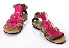 pink sandals - Michael Miller