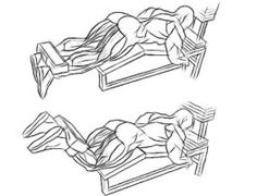 Flexão de pernas sentado em máquina