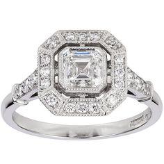 Similar to Pippa Middleton's Engagement Ring 2016