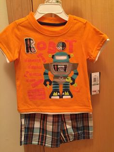 US $10.99 New with tags in Clothing, Shoes & Accessories, Baby & Toddler Clothing, Boys' Clothing (Newborn-5T)
