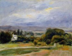 Pierre Auguste Renoir The Path oil painting reproductions for sale