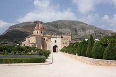 Monastery where AlexanderVI (Borgia Pope) was abbot.