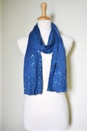 Bright colors and sparkle is a combination made in heaven, especially when it's done on soft cotton. Shine and sparkle in style with this cotton summer scarf covered in light catching sequins. $19.99 Use code PINIT at checkout for 10% off your entire order.