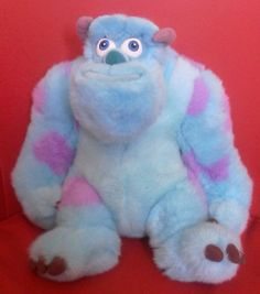 Pixar Disney Monsters Inc SULLY Large 12 Inch Plush Soft Toy *