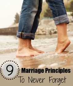 So good to remember! When these principles are forgotten, marriages start to struggle
