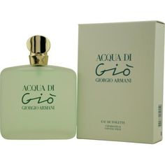 Aqua Di Gio for her by Giorgio Armani has been a favourite for a very long time