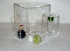 scatole plexiglass