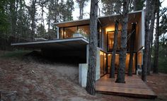 Magnificent concrete home in the Argentinian forest created by BAK Architects