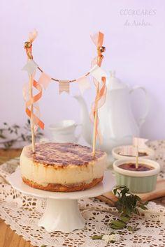 Cookcakes de Ainhoa: BLONDIE CON CREMA CATALANA