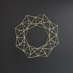 geometric wall art - Google Search