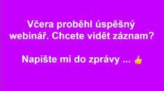 Chcete vidět záznam z vysílání? Napište mi zprávu ... a nebo napište email na: dotazy@anglictina-bez-biflovani.cz