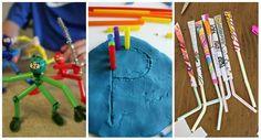 14 Activités créatives avec des pailles qui feront super plaisir aux enfants